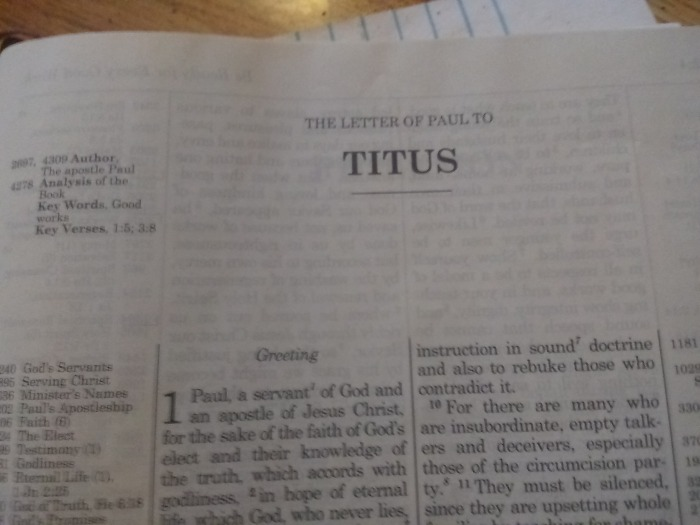 An In-Depth Summary of Titus Chapter2